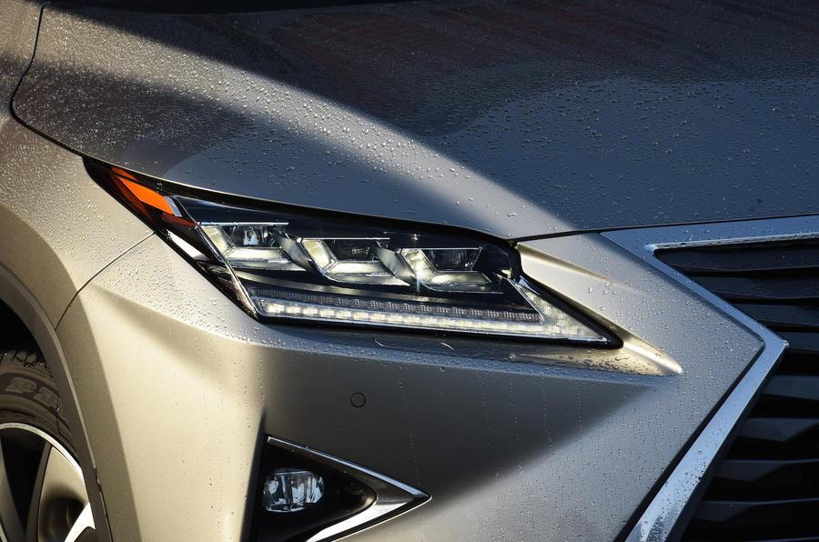 Lexus RX450h LED lights