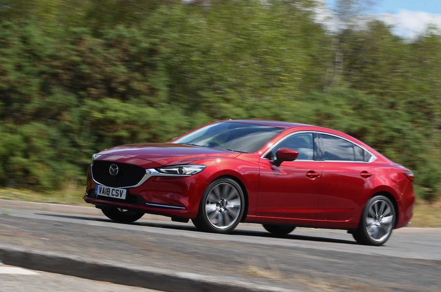 Mazda 6 165 Sport Nav 2018 UK first drive review - hero front