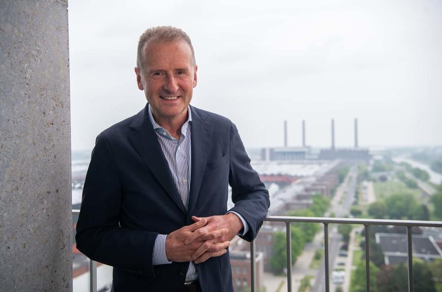 VW Group CEO Herbert Diess