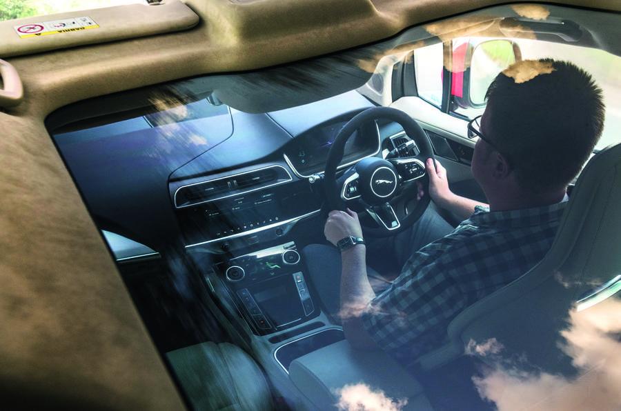 Jaguar I-Pace cabin