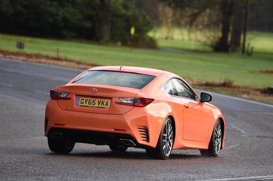 Lexus RC 200t rear