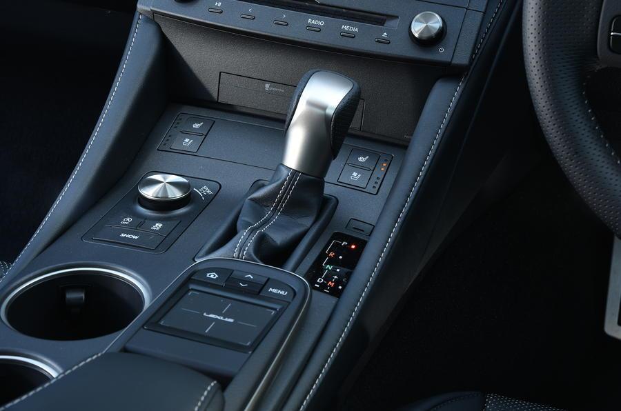 Lexus RC 200t CVT gearbox