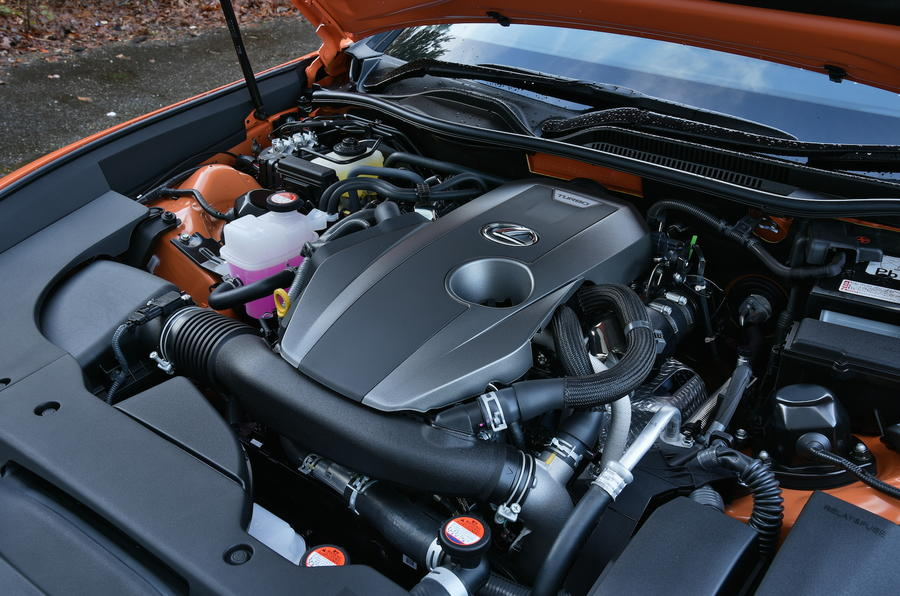 2.0-litre Lexus RC 200t petrol engine