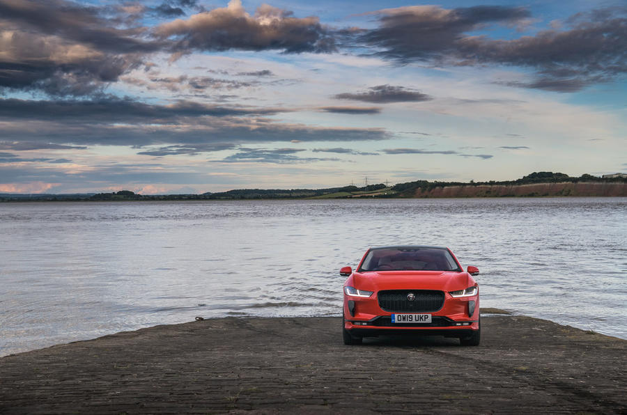 Jaguar I-Pace static front