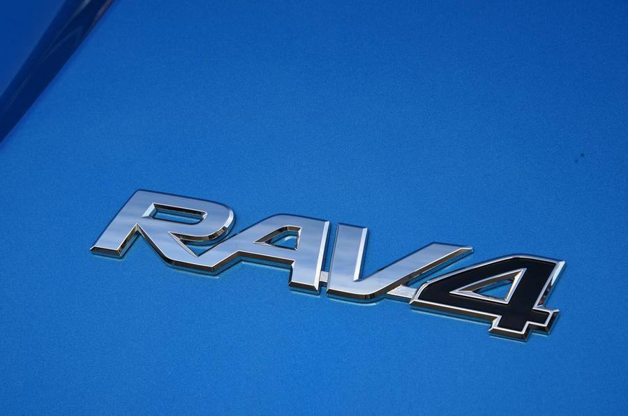 Toyota RAV4 badging
