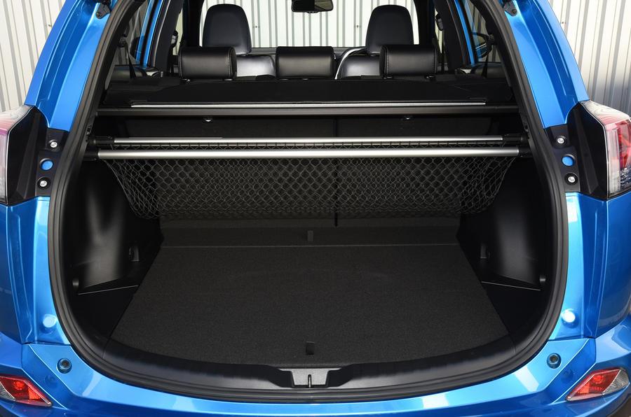 Toyota RAV 4 boot space