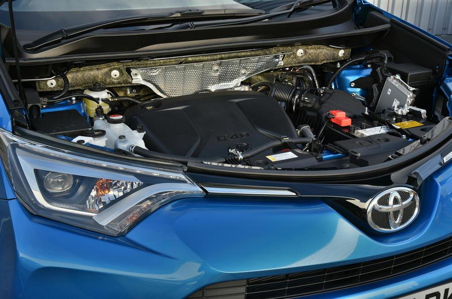 2.0-litre Toyota RAV4 diesel engine