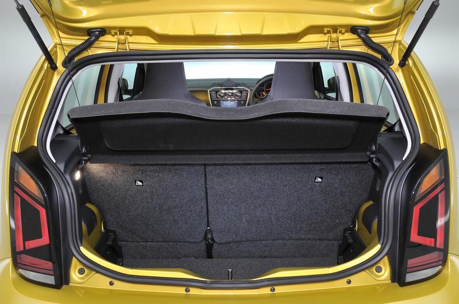 Volkswagen Up full boot space