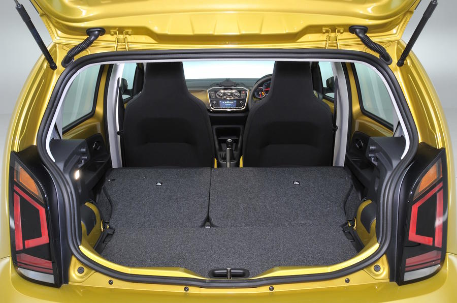Volkswagen Up seating flexibility