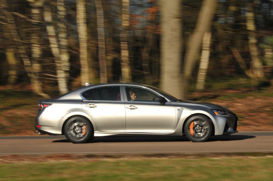168mph Lexus GS F