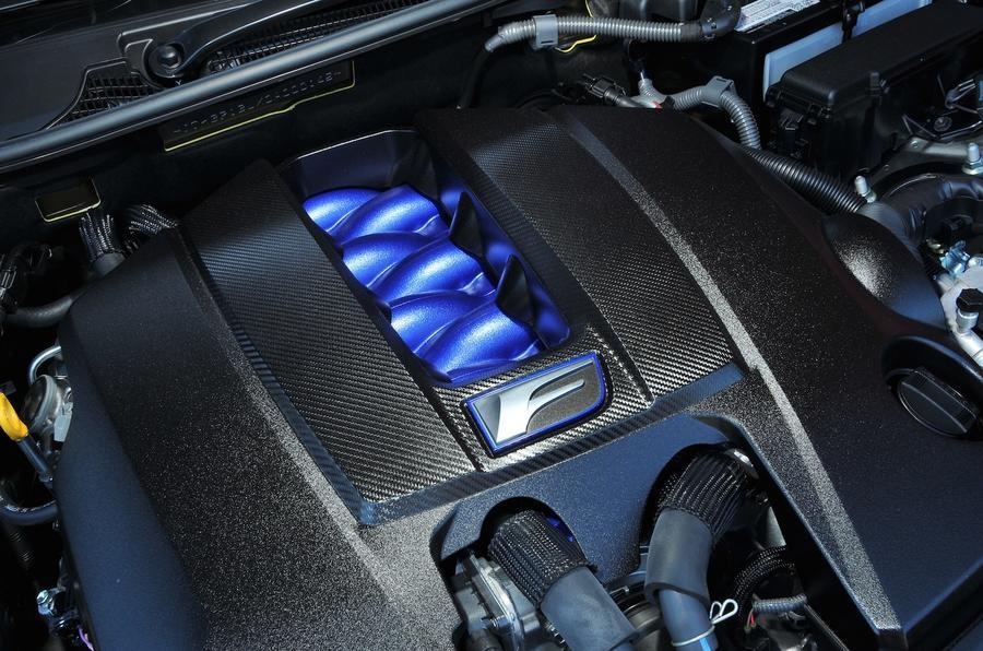 5.0-litre V8 Lexus GS F engine