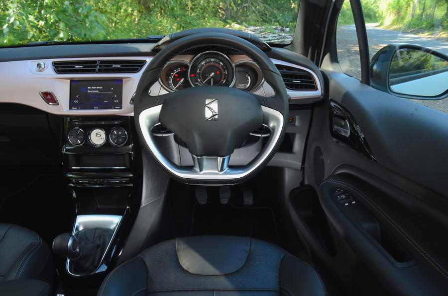 DS 3 Givenchy interior