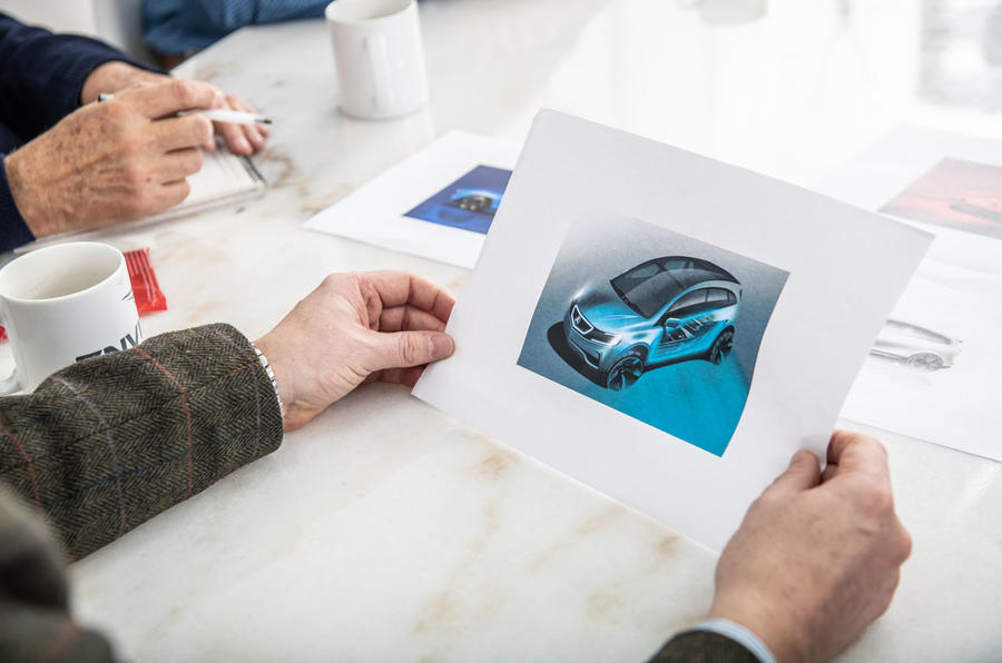 Reimagining cars from the past
