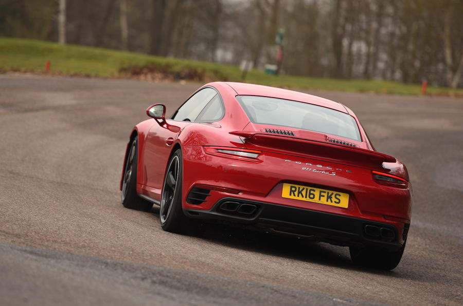 Porsche 911 Turbo S rear