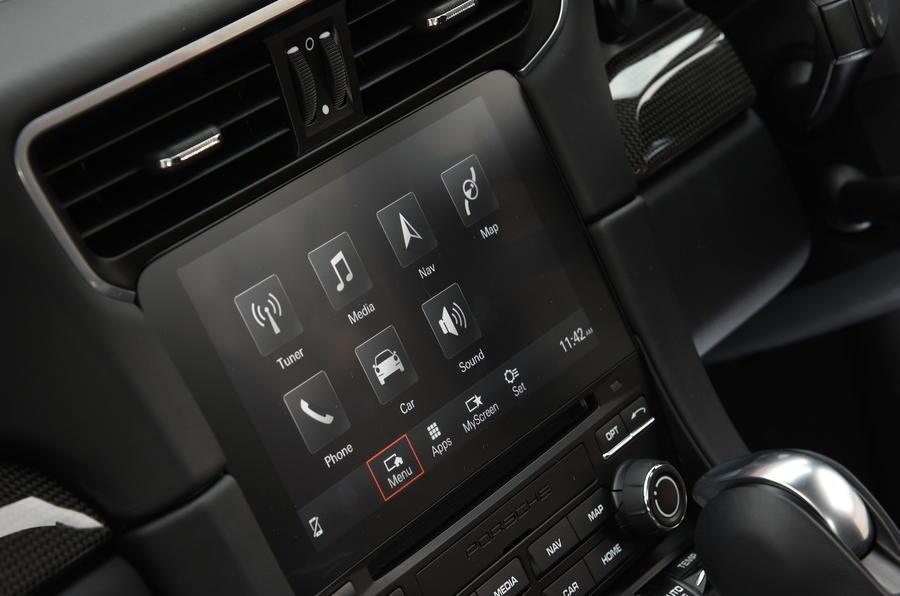 New Porsche infotainment system