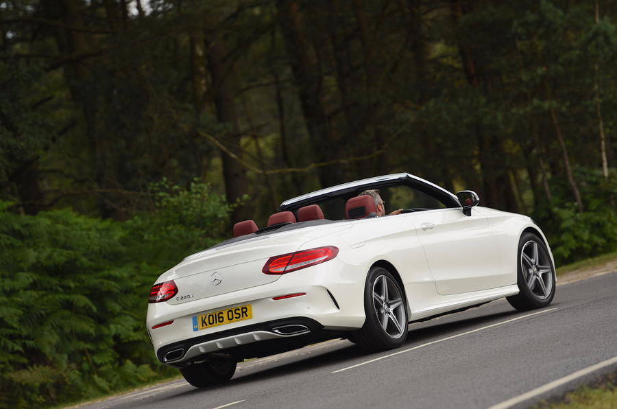 Mercedes-Benz C 220 d Cabriolet rear