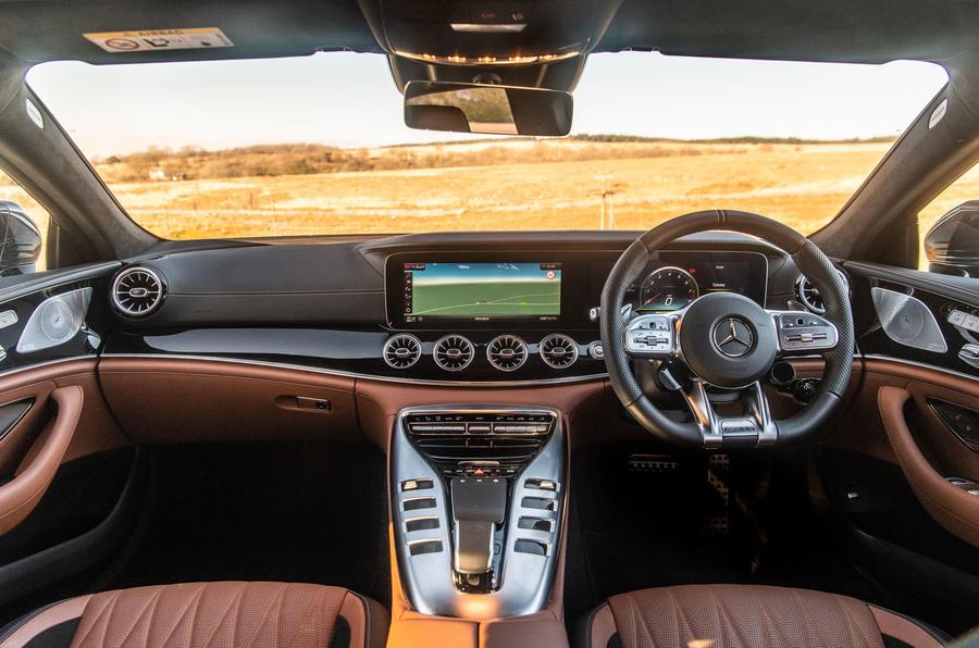 Mercedes-AMG GT 4-door Coupe - interior