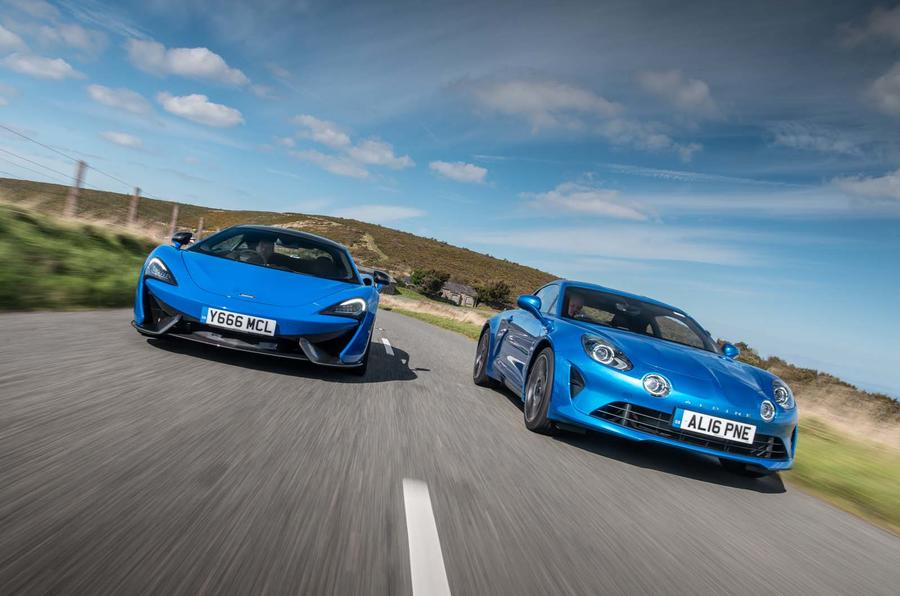 Alpine A110 vs. McLaren 570S