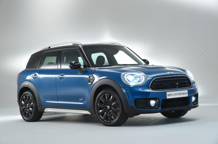 What's behind the 2017 Mini Countryman's new look?