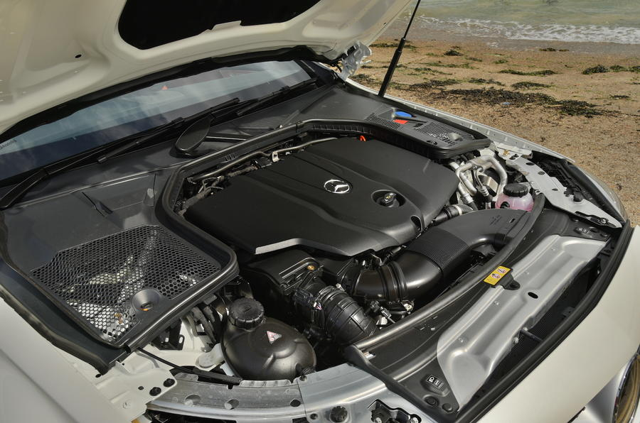 2.1-litre Mercedes-Benz diesel engine