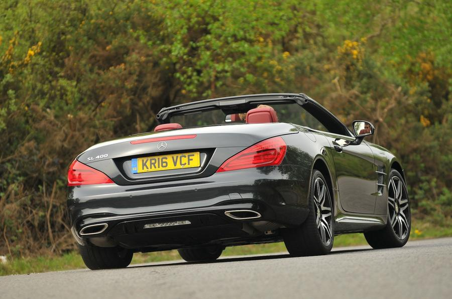 2016 mercedes benz sl 400 amg line review autocar for What is the cheapest mercedes benz