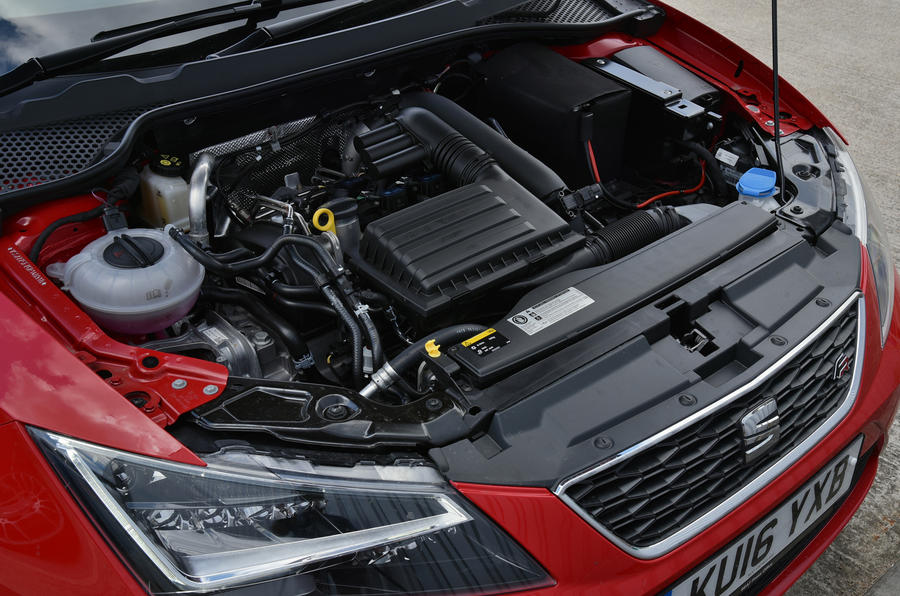 1.4-litre Seat Leon tubrocharged engine