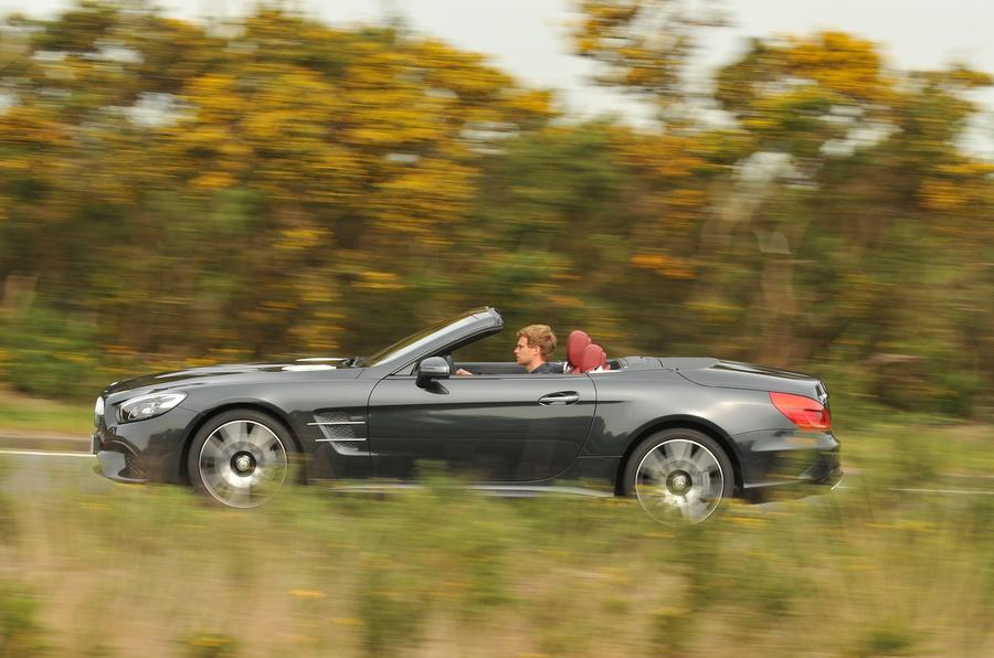 £73,810 Mercedes-Benz SL 400