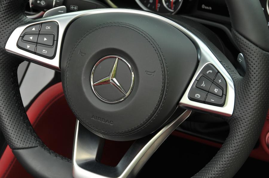 Mercedes-Benz steering wheel controls