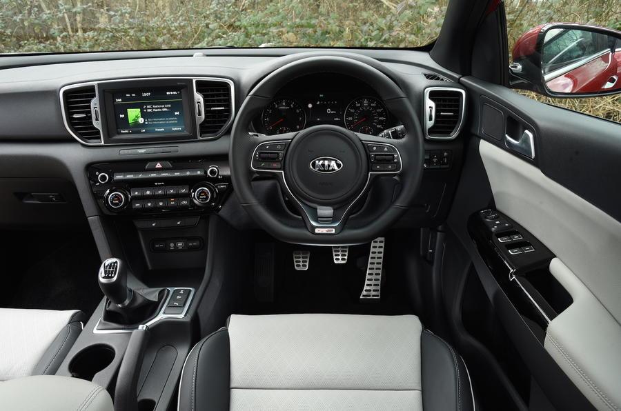 2016 Kia Sportage 1.6 T-GDi GT-Line UK review review | Autocar
