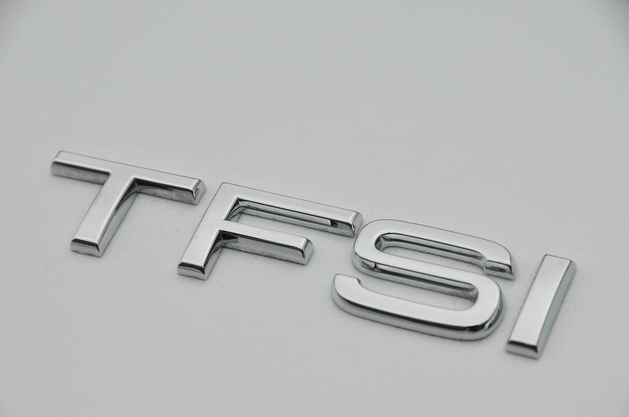 Audi TFSI badging
