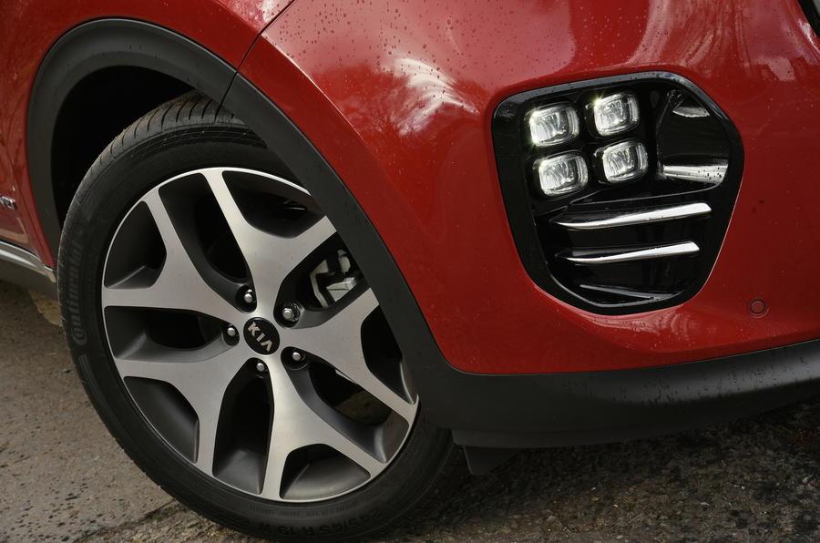19in Kia Sportage GT-Line alloys