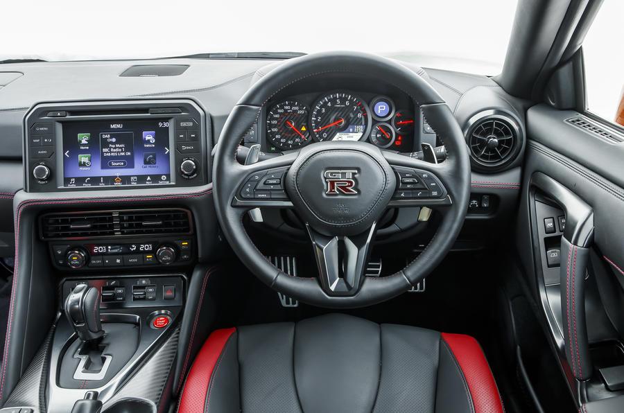 Nissan GT-R Prestige dashboard