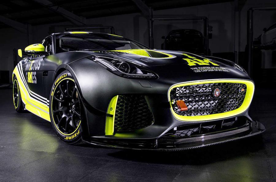 Invictus Games Racing Jaguar F-Type GT4
