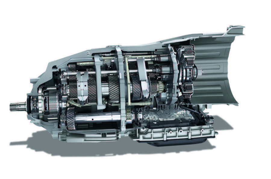 Dual clutch gearbox