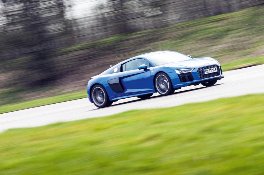 Audi R8 Vs Ducati Panigale Supercar Versus Superbike Autocar