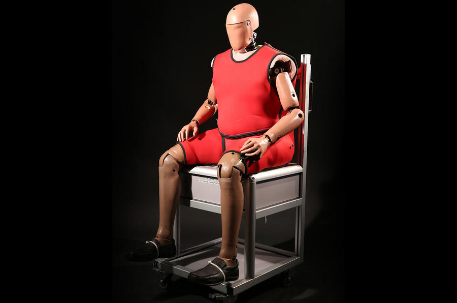 Crash test dummies to get old and obese