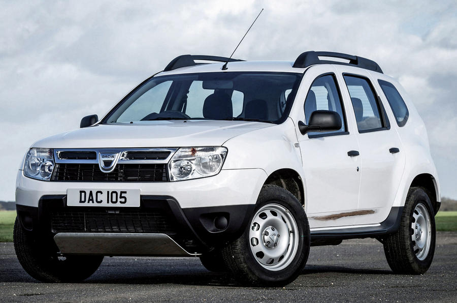 Dacia Duster rust