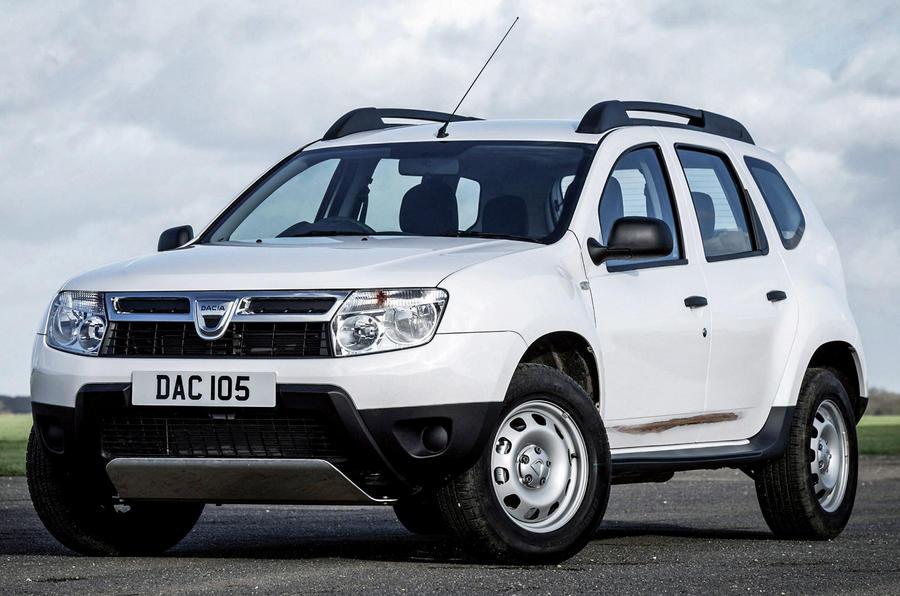 Dacia Duster rust