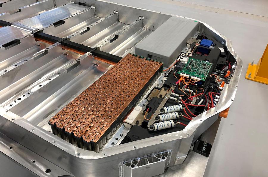 Dyson electric car - battery