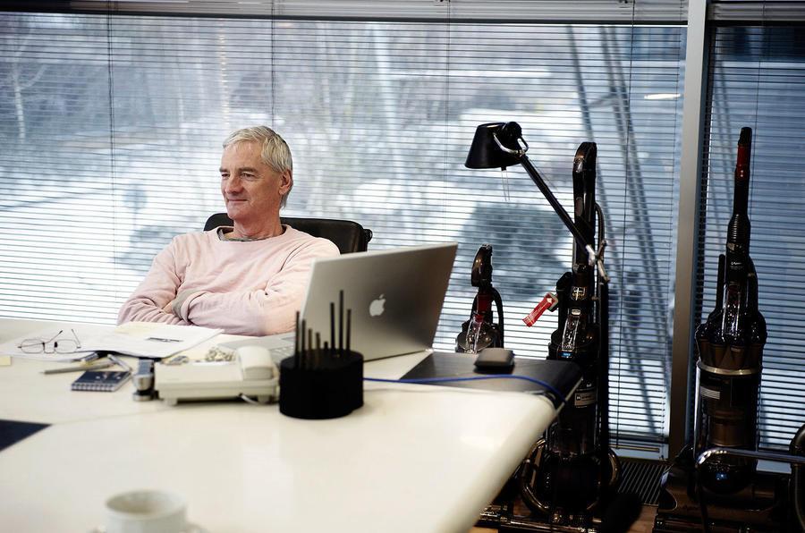 Autocar meets James Dyson