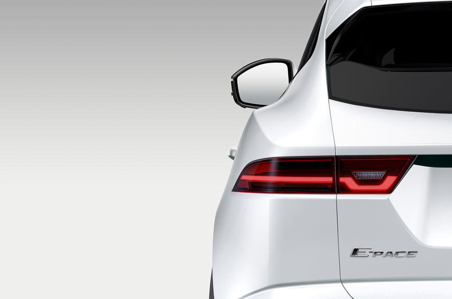 Jaguar teases E-Pace to join F-Pace in SUV range