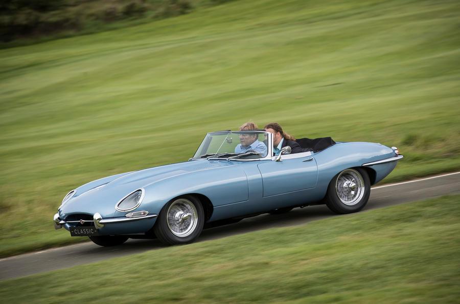 electric jaguar e type zero to enter production autocar. Black Bedroom Furniture Sets. Home Design Ideas