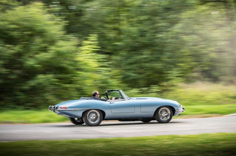 Jaguar E-Type ditches petrol, goes electric