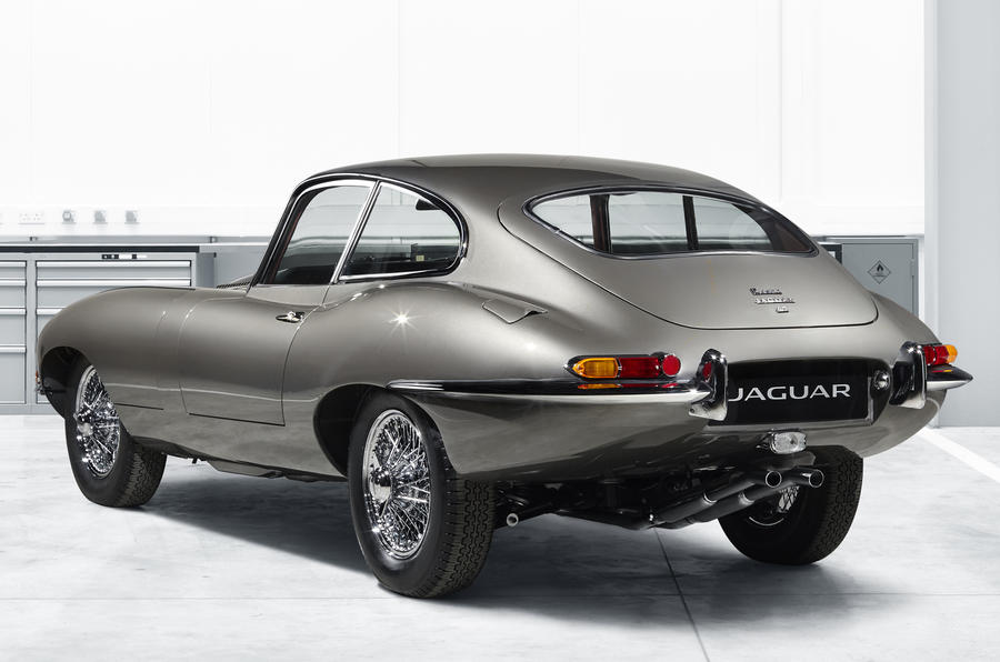 Restored reborn Jaguar E-Type