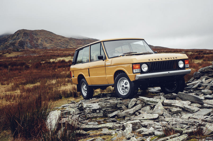 Restored reborn Range Rover Classic