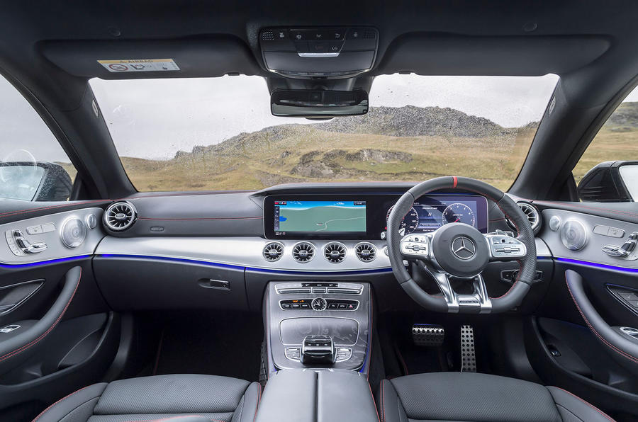 Mercedes-AMG E53 4Matic+ 2018 first drive review dashboard
