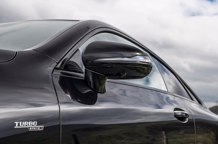 Mercedes-AMG E53 4Matic+ 2018 first drive review wing mirrors
