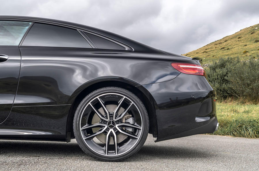 Mercedes-AMG E53 4Matic+ 2018 first drive review rear end