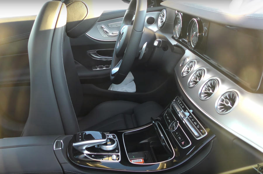 2017 mercedes benz e class coupe new video reveals interior autocar - Mercedes e coupe interior ...