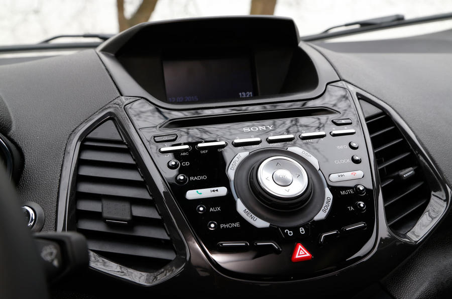Ford Ecosport Sony infotainment